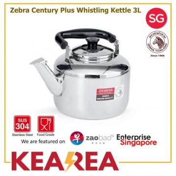 Zebra Century Plus Whistling Kettle 3L