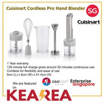 Cuisinart Cordless Pro Hand Blender 1 Year Warranty