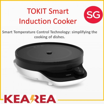 Xiaomi Youpin Tokit Youth induction cooker 2100W | Compact size / Works with Mijia App / Smart Temperature Control Technology for an easier cooking experience / Low-frequency Thermostatic Slow Cooking brings out natural flavor of food materials