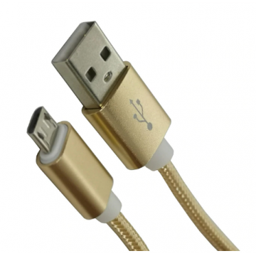 1m Micro USB Cable Nylon Fast Charge USB Data Cable for Samsung Xiaomi LG Tablet Android Mobile Phone USB Charging Cord