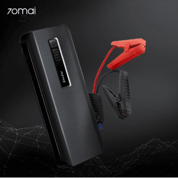 70mai Jump Starter Max 18000mAh Battery Power Bank Car Jump Starter 70 Mai Auto Buster Emergency Booster Car Battery Jumpstarter