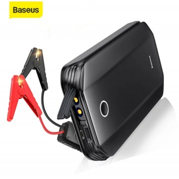 Baseus 8000mAh Car Jump Starter Power Bank Portable Emergency Battery 12V 800A Jumpstarter