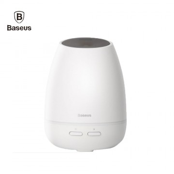 Baseus Aromatherapy Diffuser Creamy-White Aroma Essential Oil Humidifier with 7 Color Light for Home / Office / Car