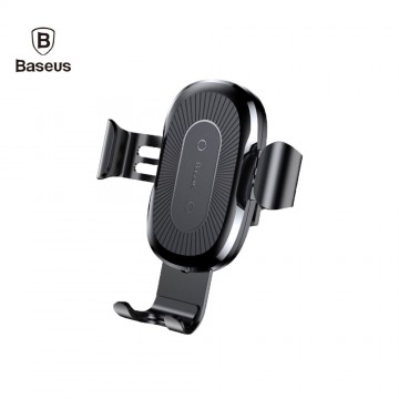 Baseus Car Holder Qi Wireless Charger For iPhone Mobile Phone Holder 10W Fast Wireless Car Charger Phone Holder