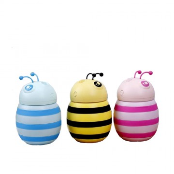 Honeybee Cartoon Usb Humidifier Household Vehicle Mounted Humidifier Air Purifier Water Replenishing And Moisturizing Machine