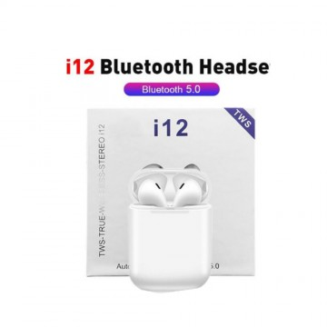 I12 TWS Wireless Earphones Mini Earbuds Bluetooth 5.0 Stereo Sport Headphone for IPhone Android Phone I 12 Tws Handsfree Headset