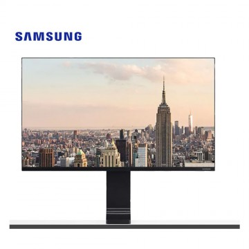 "Samsung 27"" WQHD clamp-type Monitor with Space-Saving Design and 144Hz Refresh Rate LS27R750QEEXXS"
