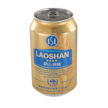 Laoshan Imported Premium Beer Can 24 x 330ML