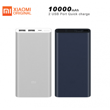 Local Seller Original Mi Power Bank 2 10000mAh Quick Charge Portable Charger External Battery For iPhone Xiaomi