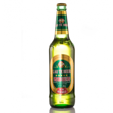 Qingdao Laote Premium Light Beer Quart 12 x 600ML