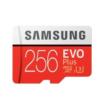 Samsung 256GB Evo Plus microSDXC UHS-I with SD Adapter