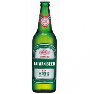Taiwan Beer Gold Medal Premium Lager Quart 12 x 600ML