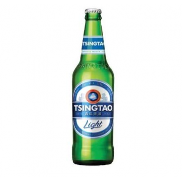 Tsingtao Light imported premium beer Quart 12 x 600ML