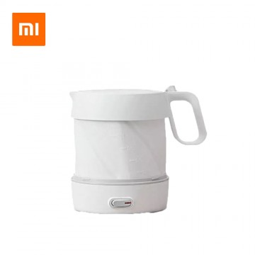 Xiaomi 1L Foldable Electric Water Kettle Handheld Instant Heating Auto Power-off Protection Silicone Insulation Kettle Travel