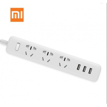 Xiaomi Mi Smart Home Power Strip Electrical Socket Wifi App Wireless Remote Control 3 Ports & 3 USB Outlet Plug