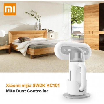 Xiaomi SWDK KC101 pro Wireless Hanadheld Dust Mite Controller/3 Pcs HEPA Filter [7000Pa,Handheld, UV-C, UV Clean Mite, Sterilization, Long Endurance, High Frequency Vibration, Washable Filter, 0.4L Dust Box, Rechargeable, Portable]