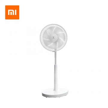 Xiaomi VIOMI VXFS12-Z Voice Floor Fan Energy-Saving Mute Frequency Conversion 7-Blade Mobile Phone Voice & APP Remote Control