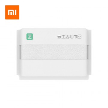 Xiaomi ZSH Face Hand Towel Polyegiene Antibacterical Towel Air Series 100% Cotton Highly Absorbent - White