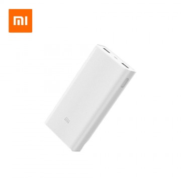 Xiaomi Power Bank 2C 20000mAh Mi Powerbank External Battery Dual USB QC 3.0 Quick Charge Fast Charge for Mobile Phone Laptop