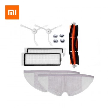 Xiaomi Roborock Robot S50 S51 Vacuum Cleaner Spare Parts Kits Mop Cloths Wet Mopping filter Side Brush Roll Brush