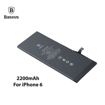 Original Baseus Lithium Polymer Battery For Apple iPhone 6 6G Internal Batteria High Capacity 2200mAh Phone Battery Replacement