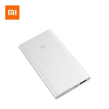 Original Slim Xiaomi Power Bank 5,000mAh Silver (Local Stock)